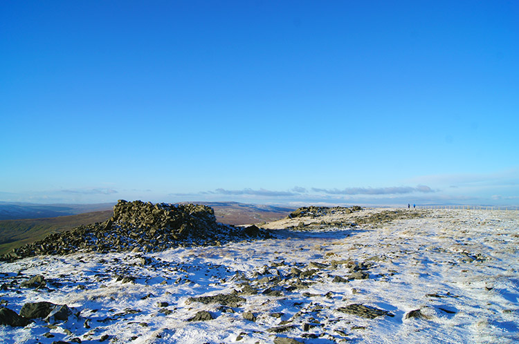 Shelter on Great Whernside