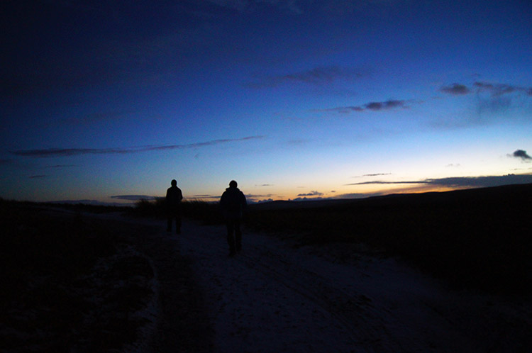 Night walking in Nidderdale