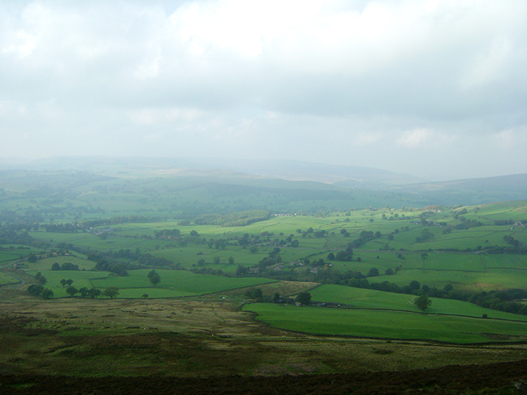 View of Wharfedale from Beamsley Beacon