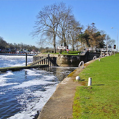 Gunthorpe Lock and Weir