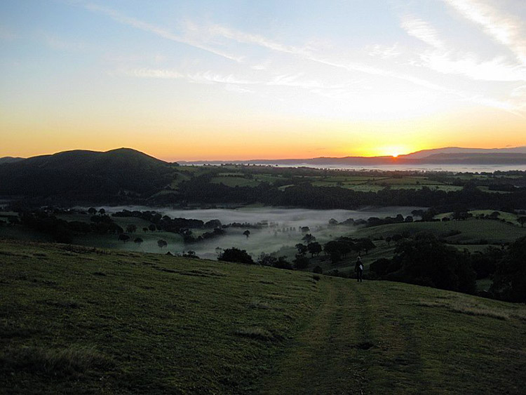 Early Morning on the Shropshire Hills