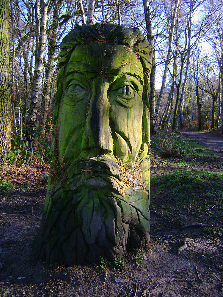 Green Man near Beacon Hill
