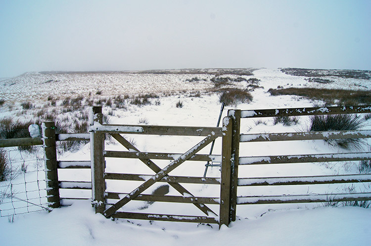 Pennine winter splendour