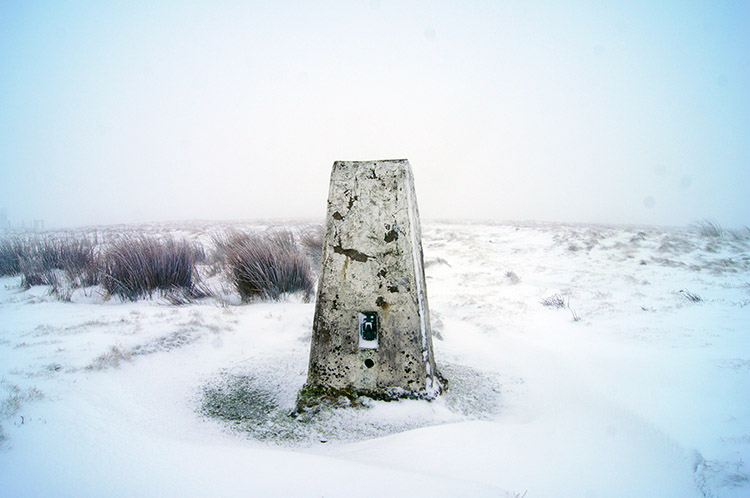 White Hill Trig Pillar