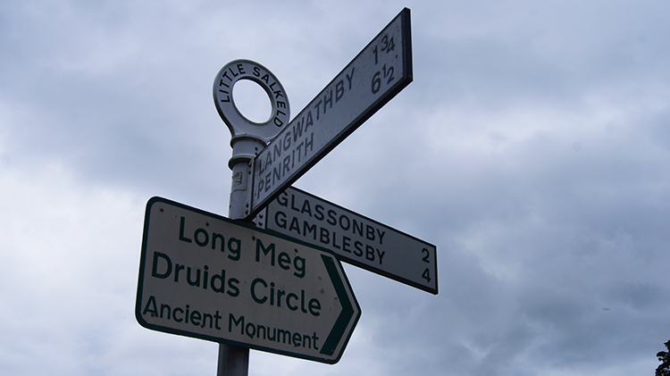 Signpost in Little Salkeld