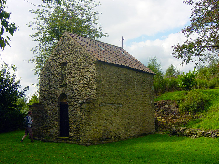 The secluded church at Scotch Corner