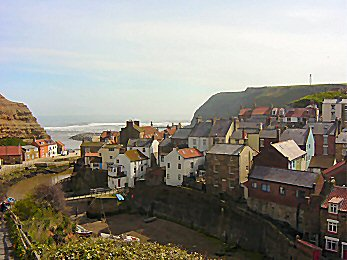 Staithes is a very pretty village