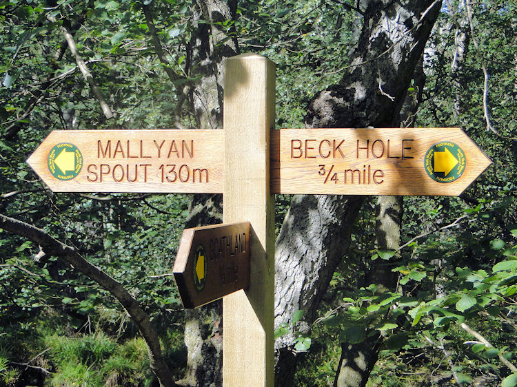 Signpost to Mallyan Spout