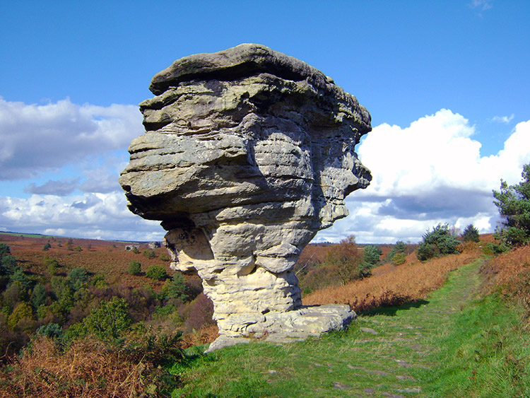 The Pepperpot Bridestone