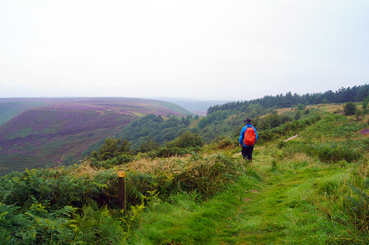 Nearing the Hole of Horcum