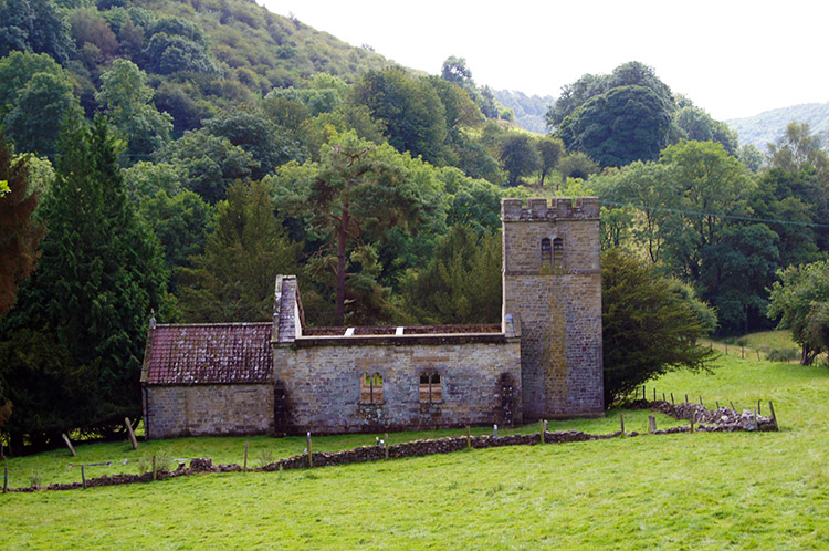 The original Levisham Church