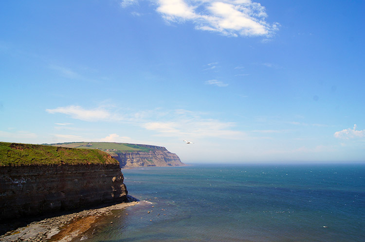 Coastline from Staithes to Saltburn