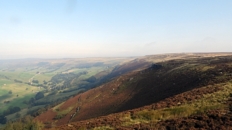 View of Upper Nidderdale from High Scar