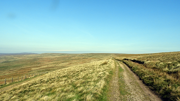 View from Dale Edge to Woogill Moor