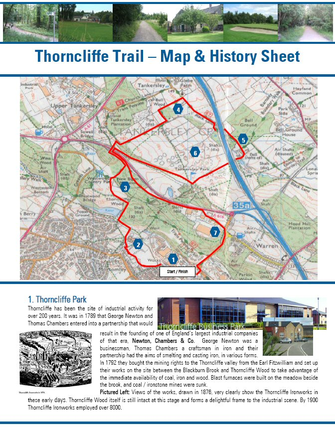 Thorncliffe Trail walk