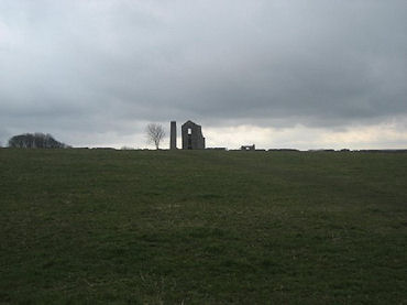Grey skies over Magpie Mine