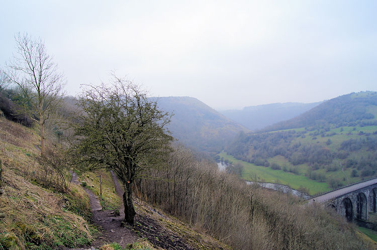 View to Monsal Dale from Monsal Head