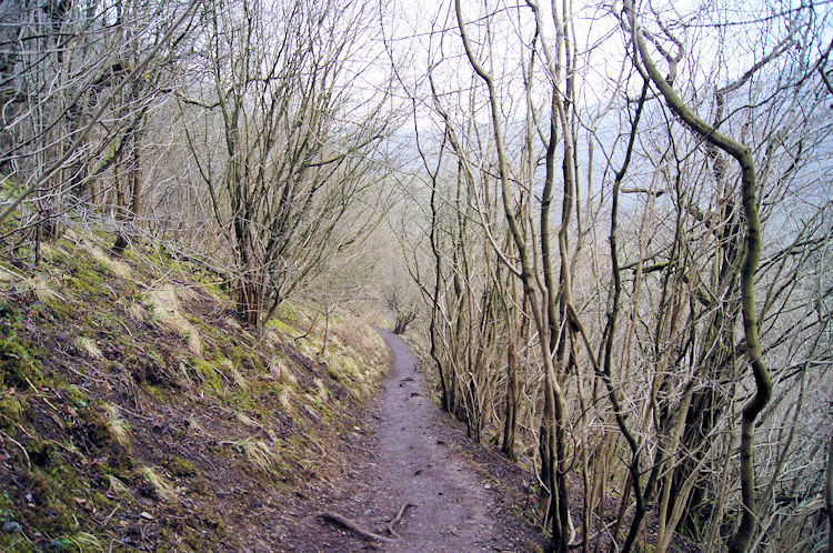 Following the path into Monsal Dale