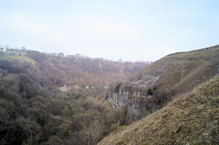 The path above Litton Tunnel