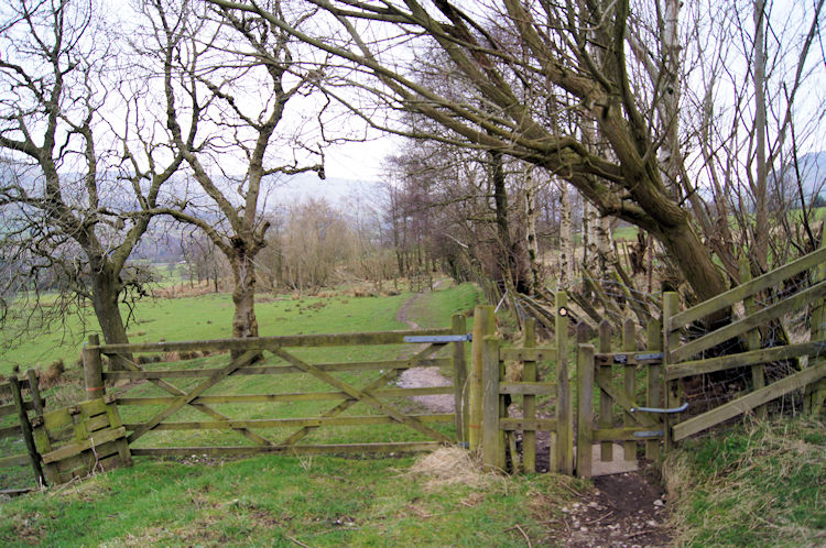 On the path from Nether Booth to Edale