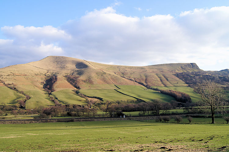 Lose Hill and Back Tor as seen from Edale