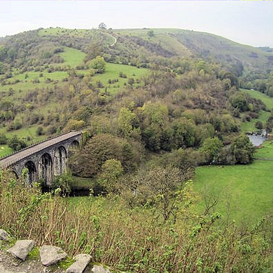 Iconic view of Monsal Dale