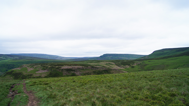 View north to Harden Moor and Langsett Moors