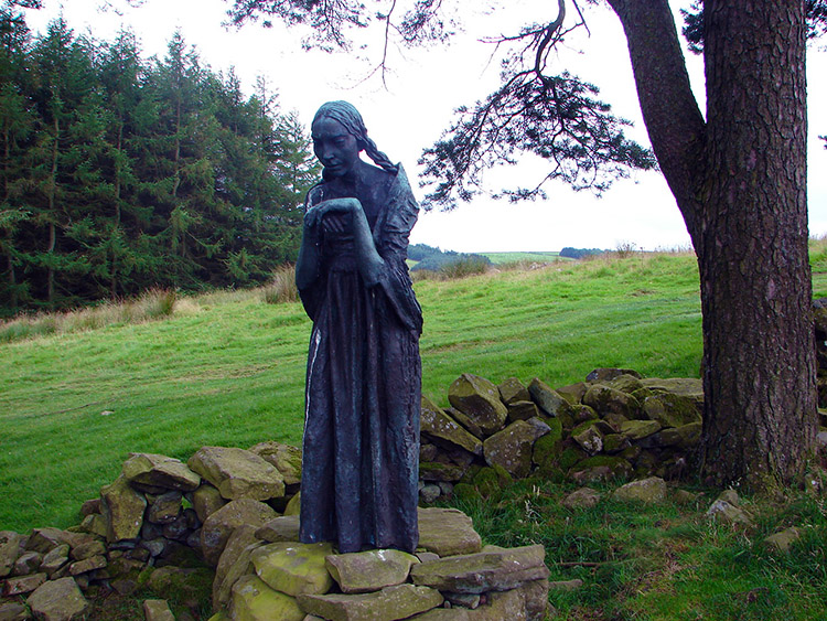 Mary in 'The Visitation' by Sir Jacob Epstein