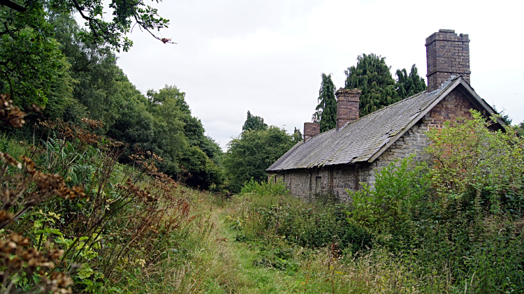 Remote dwelling east of Bury Ditches