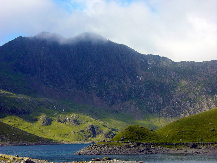 Snowdon as seen from Llyn Llydaw