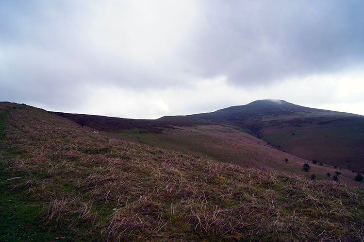The summit of Sugar Loaf comes into view