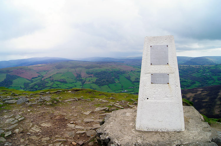 View from the trig point on Sugar Loaf