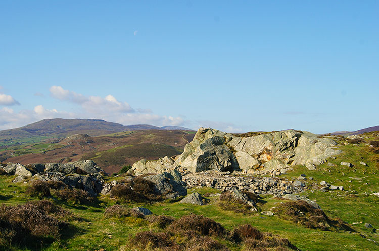 On the summit of Conwy Mountain