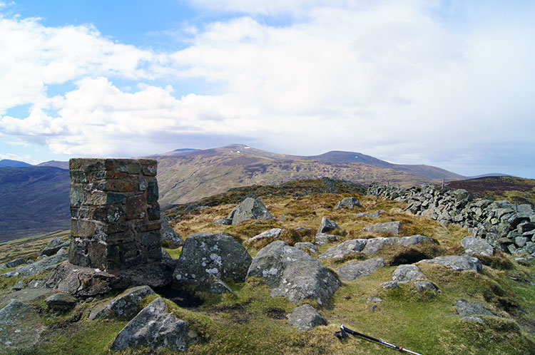 The summit of Tal y Fan