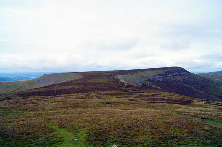 The romantic expanse of the Black Mountain uplands