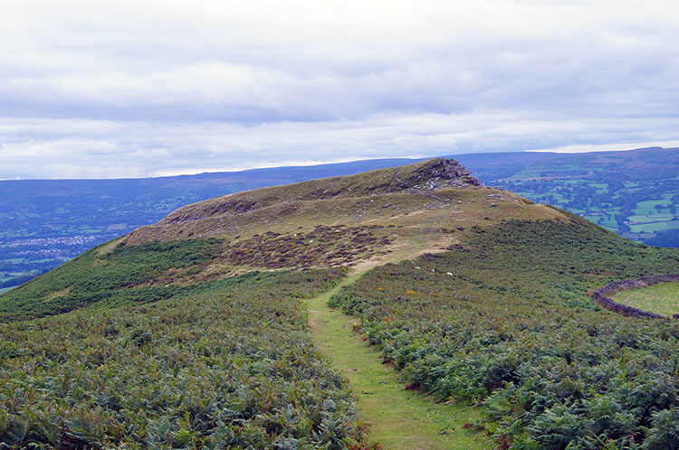 Table Mountain, once known as Crug Hywel fort