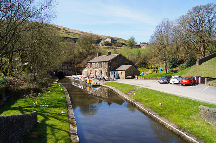 Standedge Tunnel End, Marsden