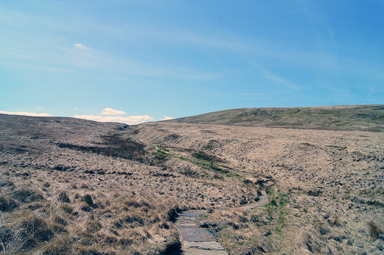 Path across the Pennine Moors