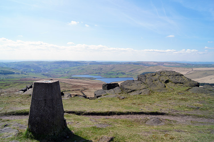 Looking to Lancashire from Millstone Edge