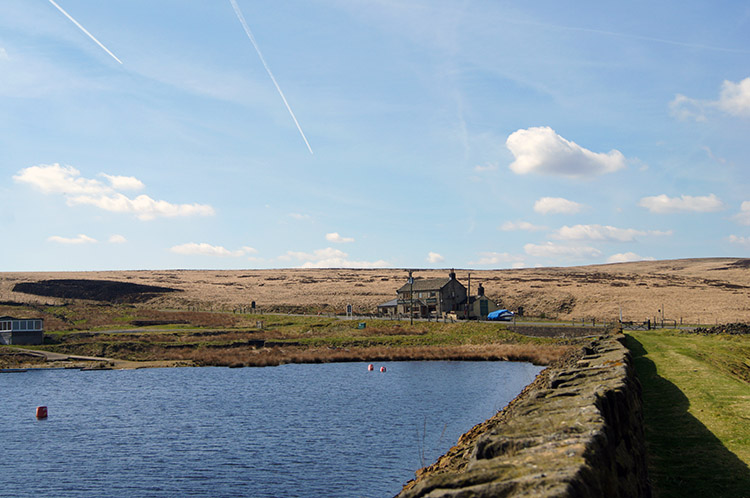 Redbrook Reservoir and the Great Western Inn