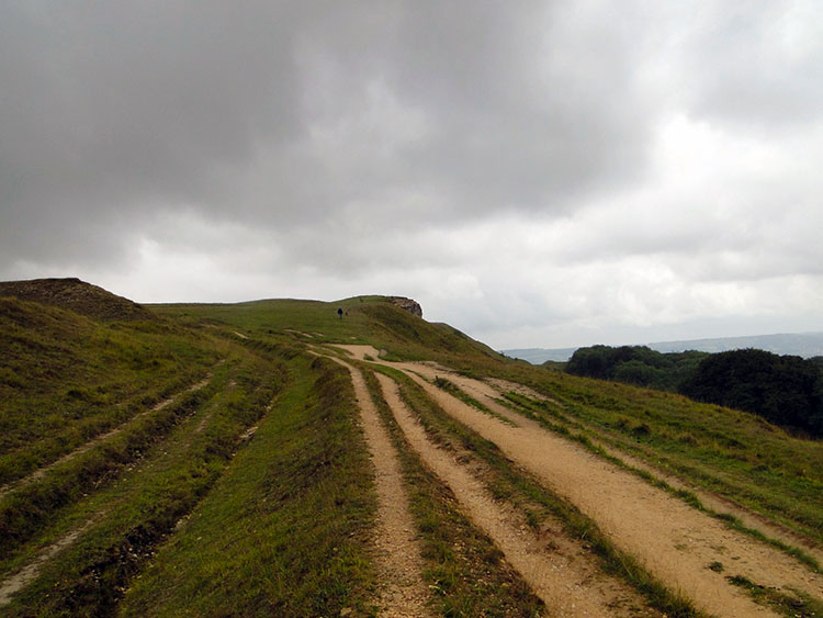 Rutted trackways on Cleeve Hill