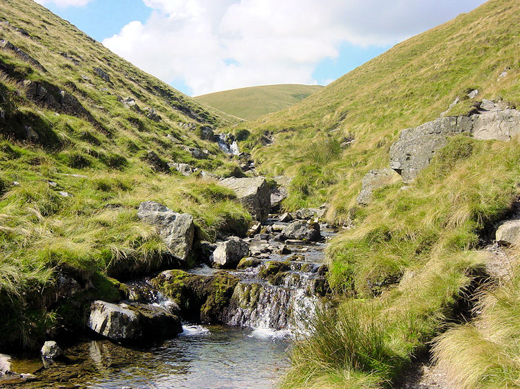 Swere Gill before its dramatic drop over Cautley Spout