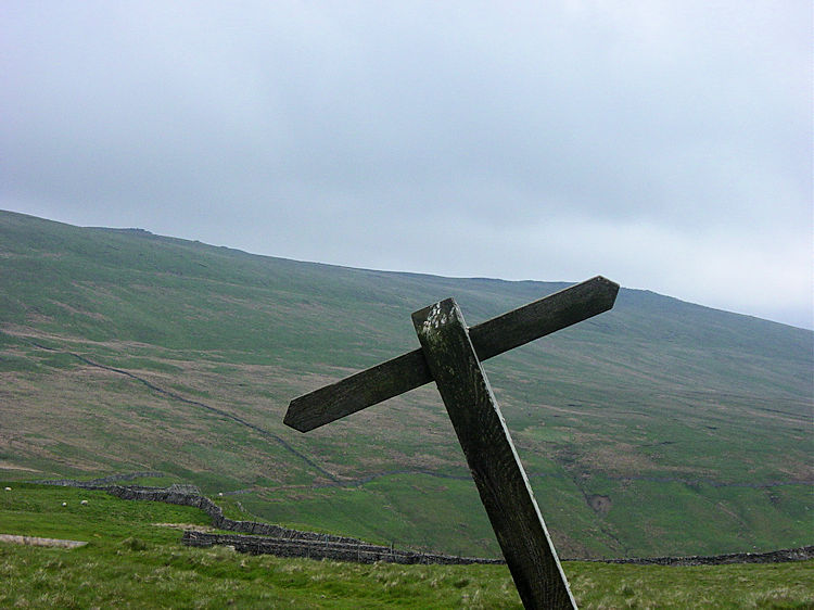 Great Whernside, the west face
