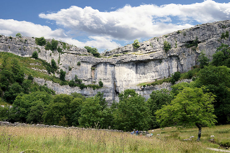 Malham Cove, the perfect view
