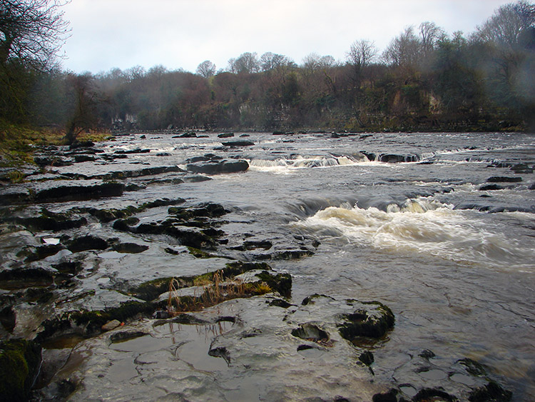River Ure downstream of Aysgarth Falls
