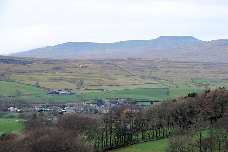 The view of Ingleborough from Brackenbottom