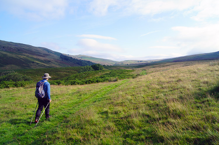 Climbing from Leck Beck to Leck Fell