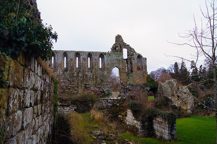 Another Jervaulx Abbey scene