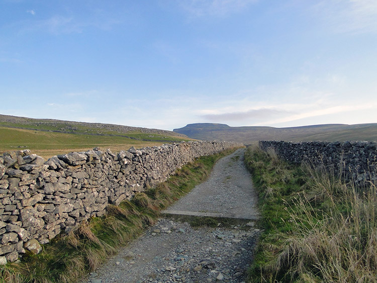 The Fell Lane track from Ingleton to Crina Bottom
