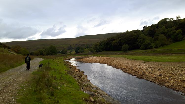 Following the River Swale downstream